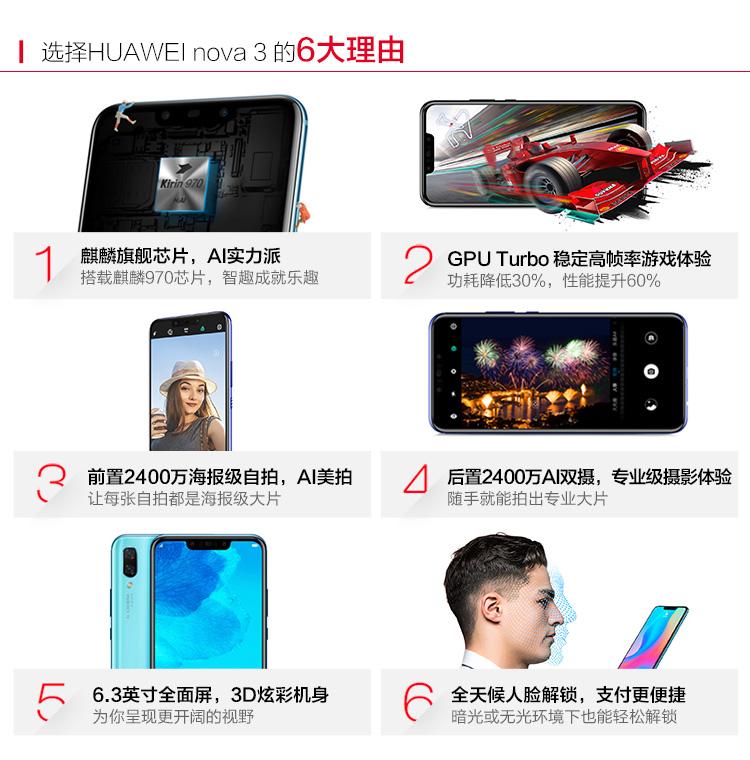 Huawei Nova 3 - www hardwarezone com sg